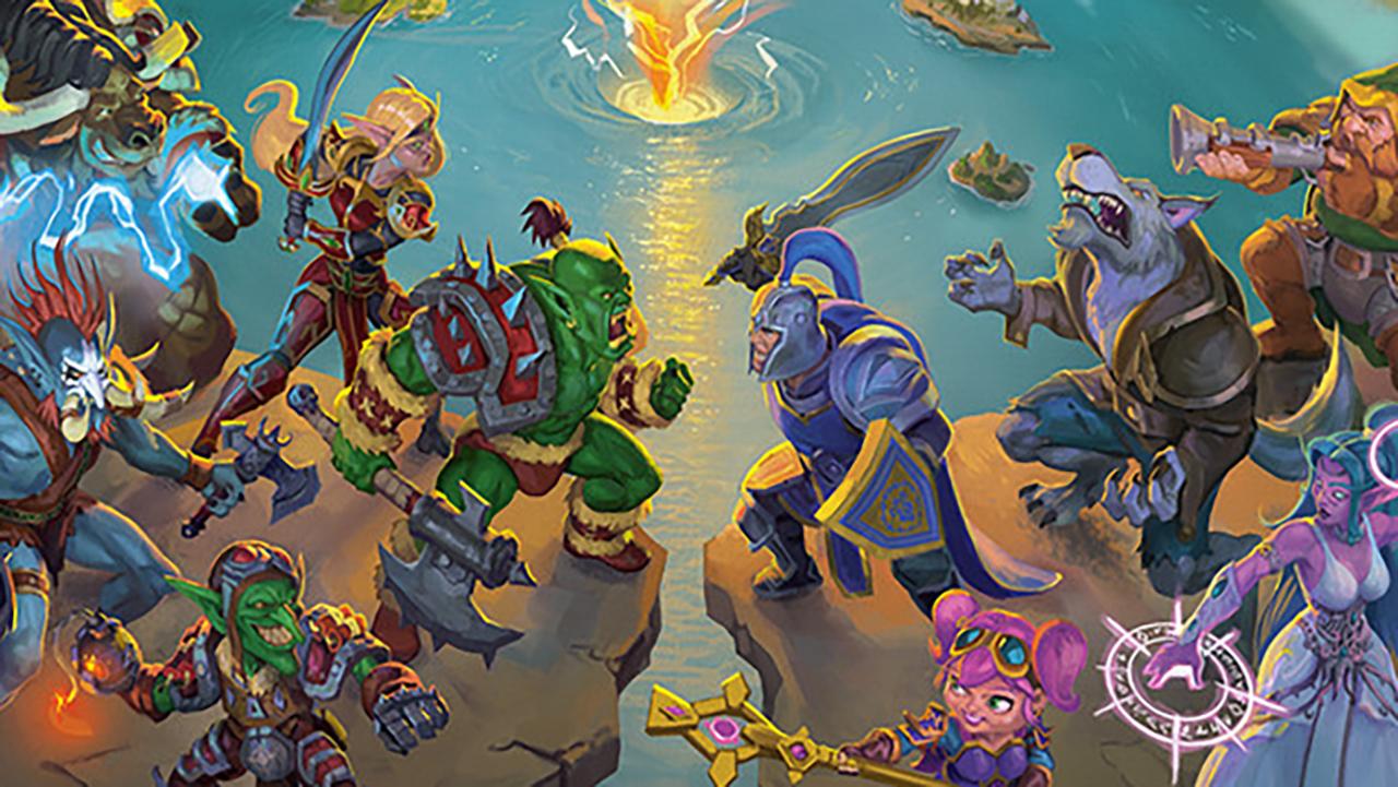Un gioco da tavolo per esplorare il mondo di Warcraft thumbnail