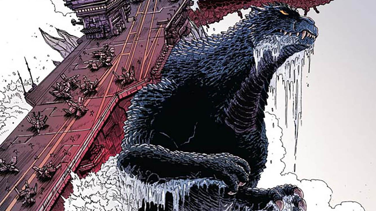 saldaPress lancia un nuovo volume su Godzilla thumbnail