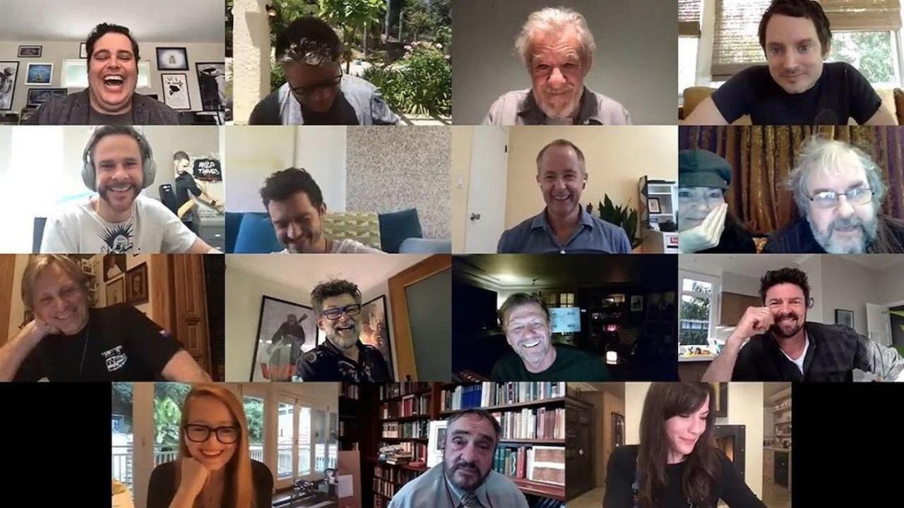 Il Signore degli Anelli: ecco il video della reunion virtuale thumbnail