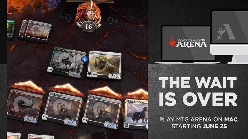 MTG Arena presto su macOS thumbnail
