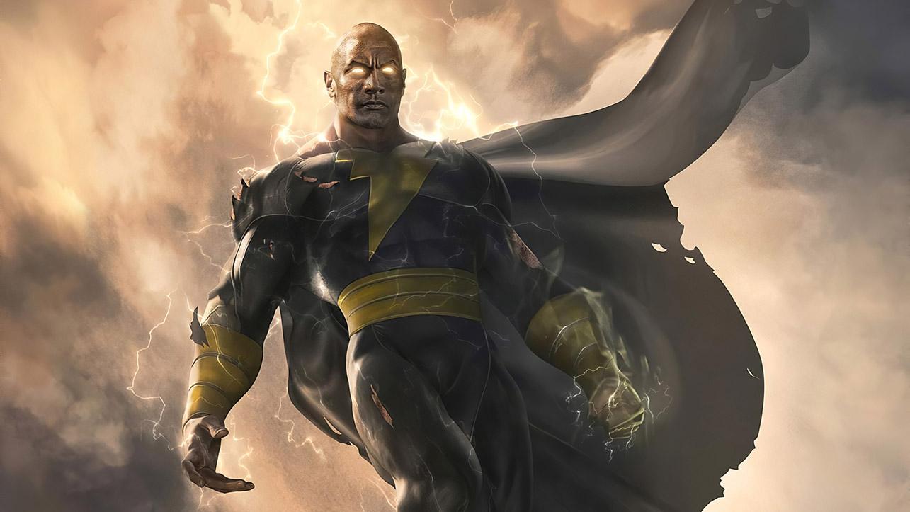 The Rock rilascia una nuova immagine di Black Adam thumbnail