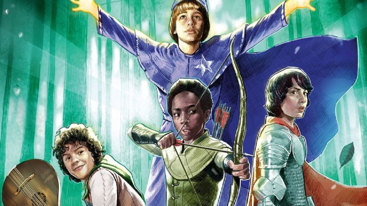 Stranger Things incontra Dungeons & Dragons in un fumetto thumbnail