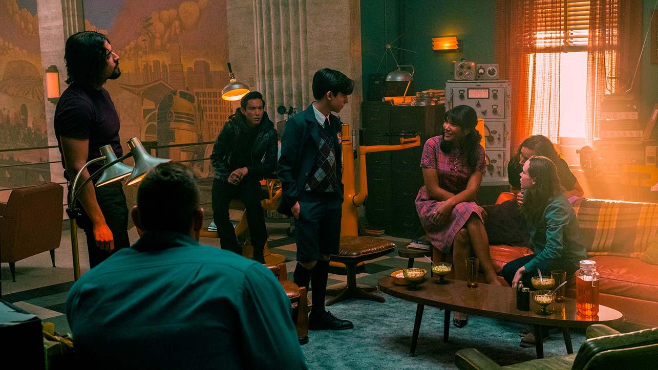 Ecco le prime immagini della seconda stagione di The Umbrella Academy thumbnail