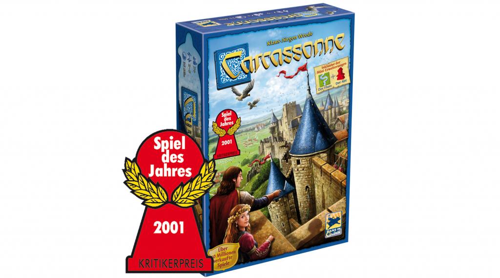 Carcassonne vincitori spiel des jahres