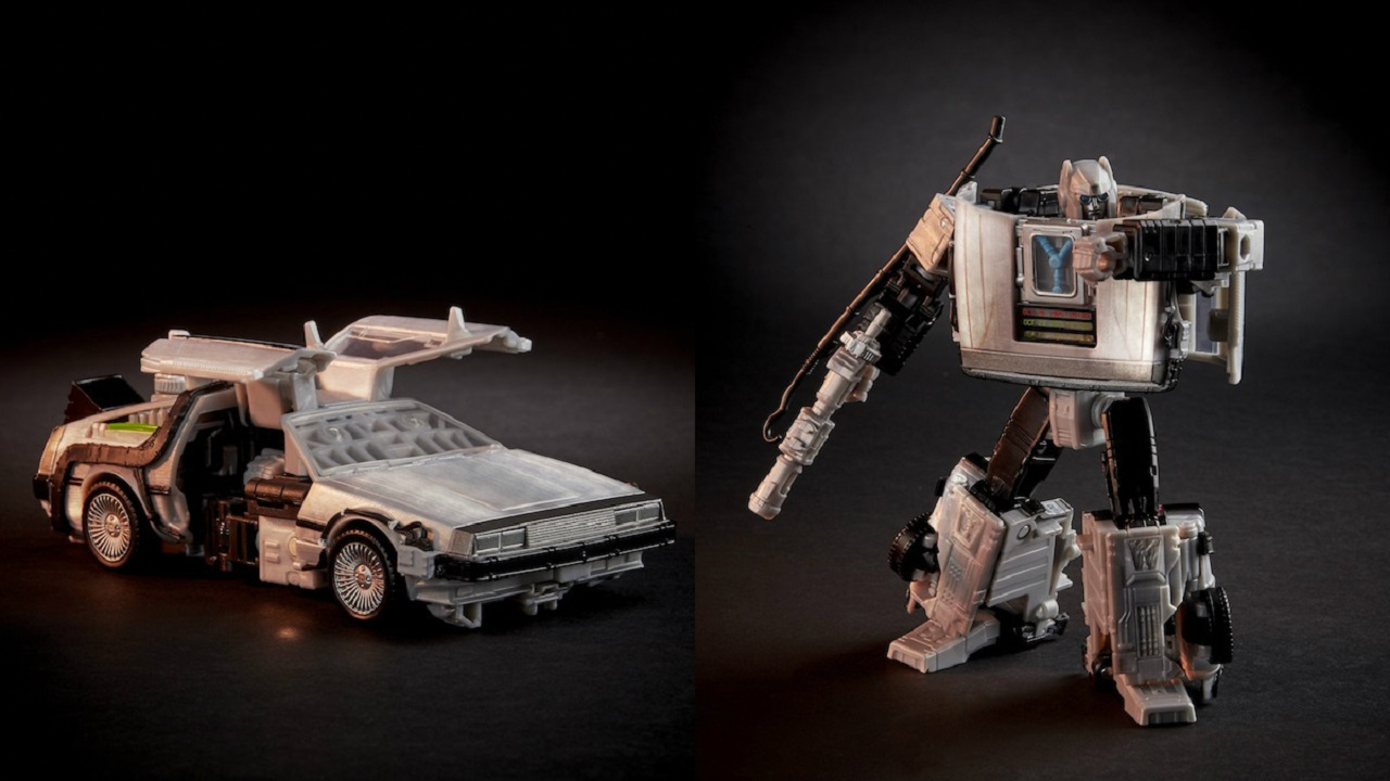 Arriva la DeLorean in versione Transformers thumbnail