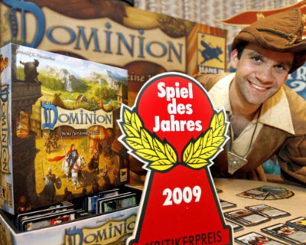 Dominion vincitori Spiel des Jahres
