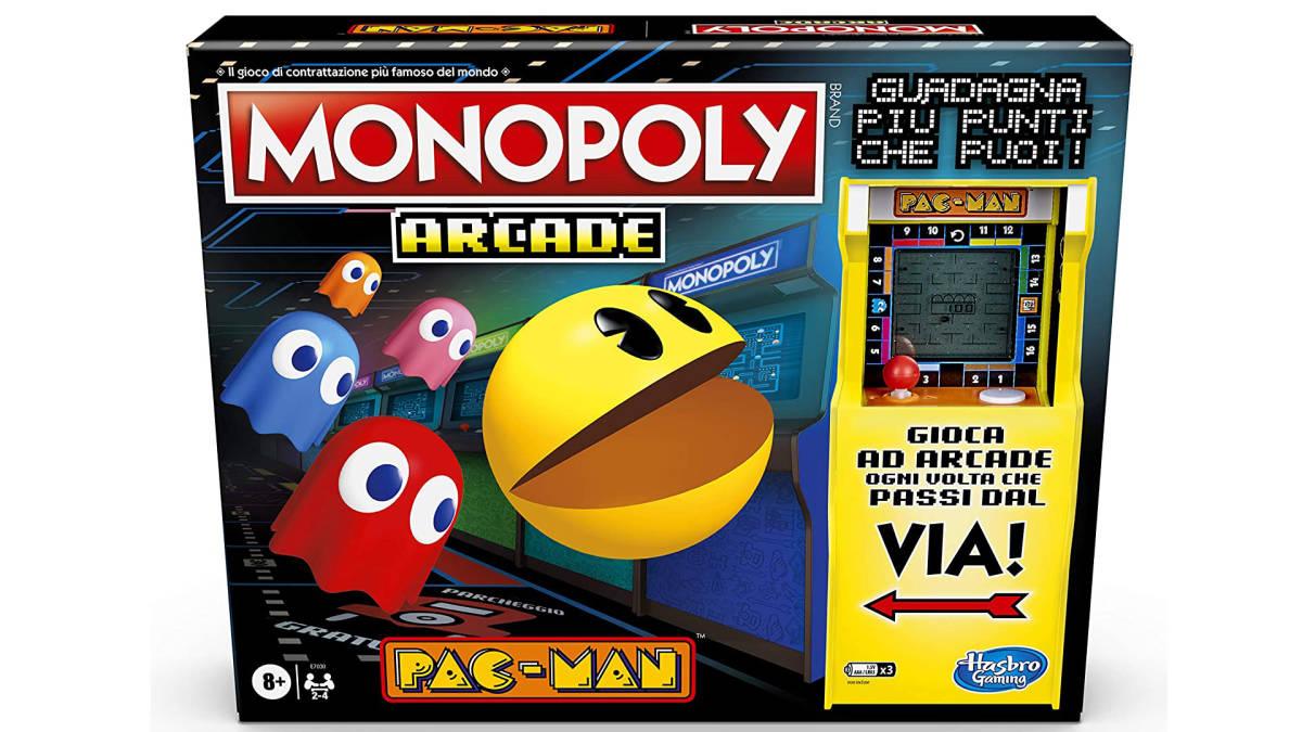 Hasbro annuncia il Monopoly di Pac-Man thumbnail