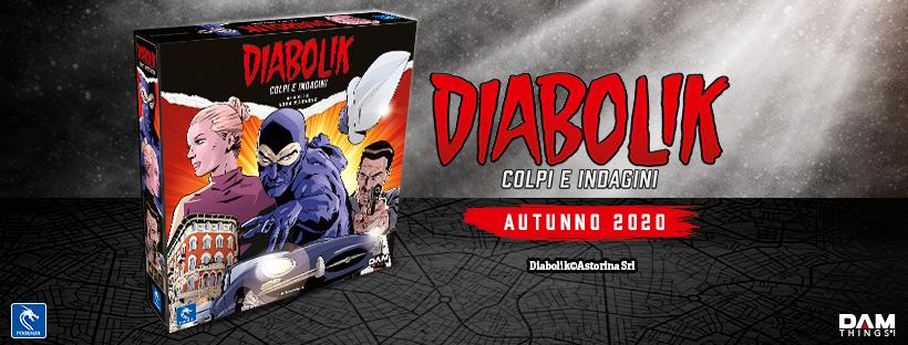 Pendragon annuncia un gioco da tavolo su Diabolik thumbnail