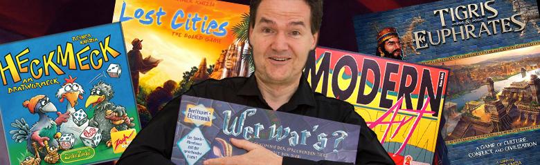 Reiner Knizia, autore di giochi da tavolo a tempo pieno thumbnail