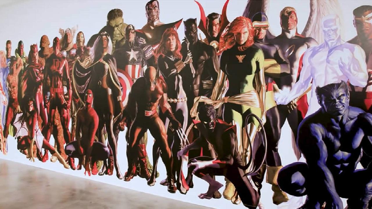 Il murales di Alex Ross nei nuovi uffici della Marvel thumbnail