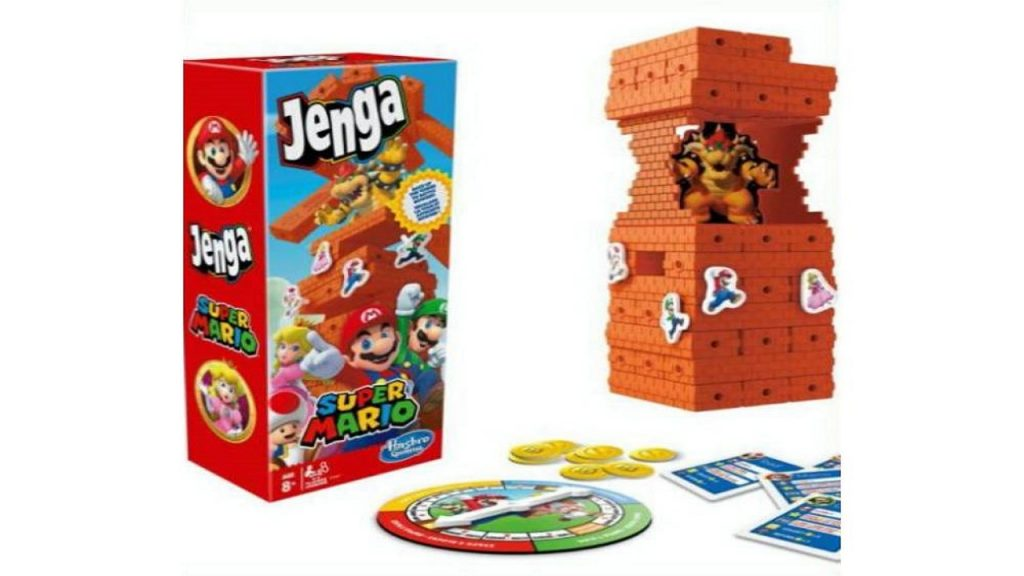 Super Mario Jenga Hasbro