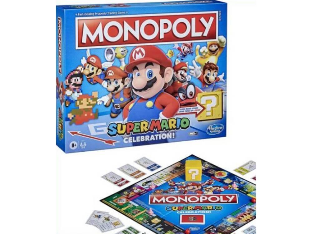 Super Mario Monopoly Hasbro