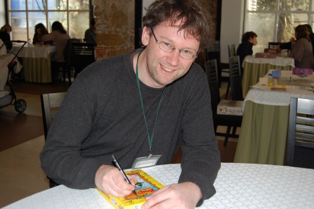Uwe Rosenberg: Game designer fin da giovane thumbnail