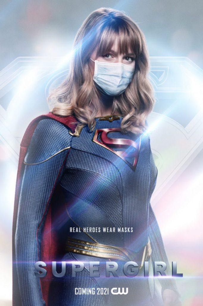 Supergirl Mask