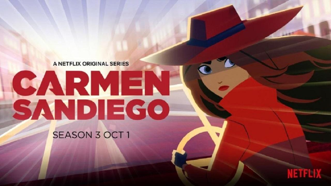 Carmen Sandiego 3: arriva il trailer ufficiale thumbnail