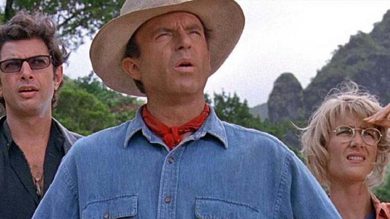 Jurassic Park: il trio originale invita al voto dal set thumbnail
