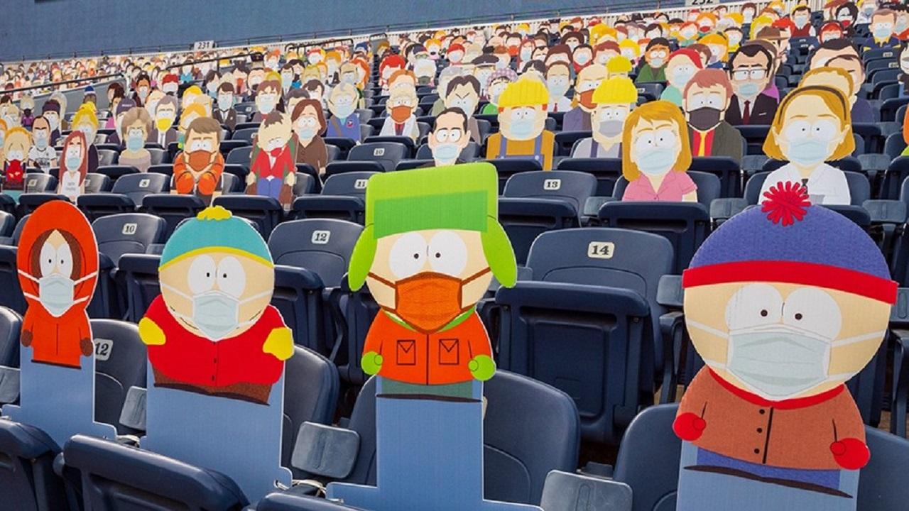I Denver Broncos riempiono lo stadio con i personaggi di South Park thumbnail