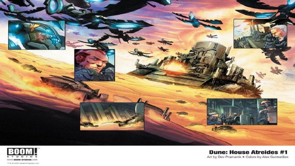 Fumetto Dune