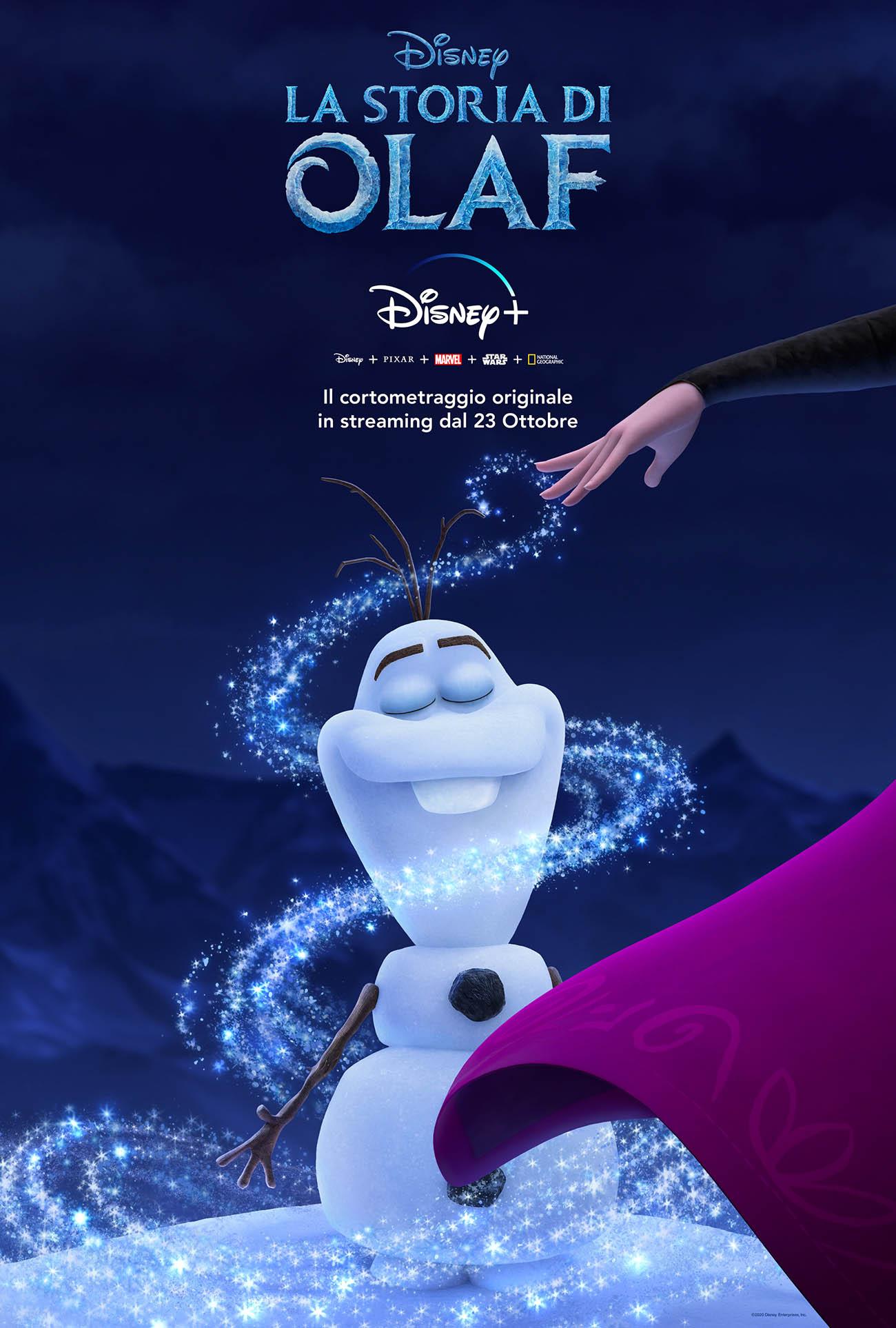 olaf frozen cortometraggio disney
