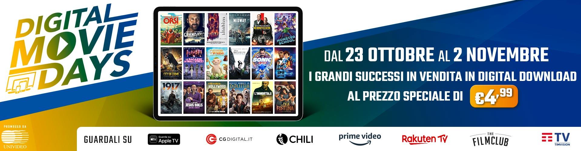 Digital Movie Days lancio