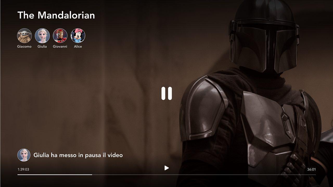 Disney+ lancia in Italia GroupWatch, la nuova funzionalità di visione condivisa thumbnail
