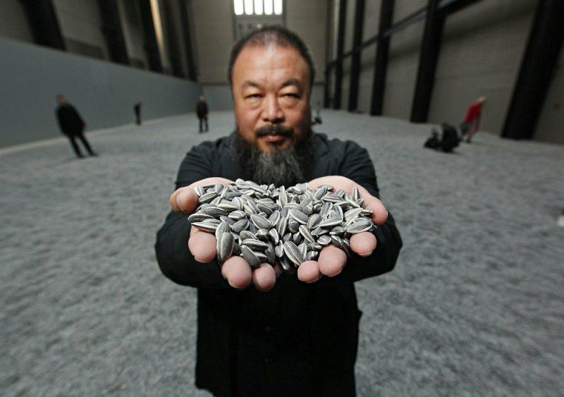 Ai Weiwei Semi di girasole
