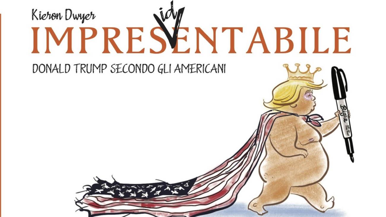 Kieron Dwyer racconta Donald Trump a fumetti thumbnail