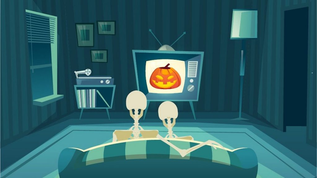Halloween in tv