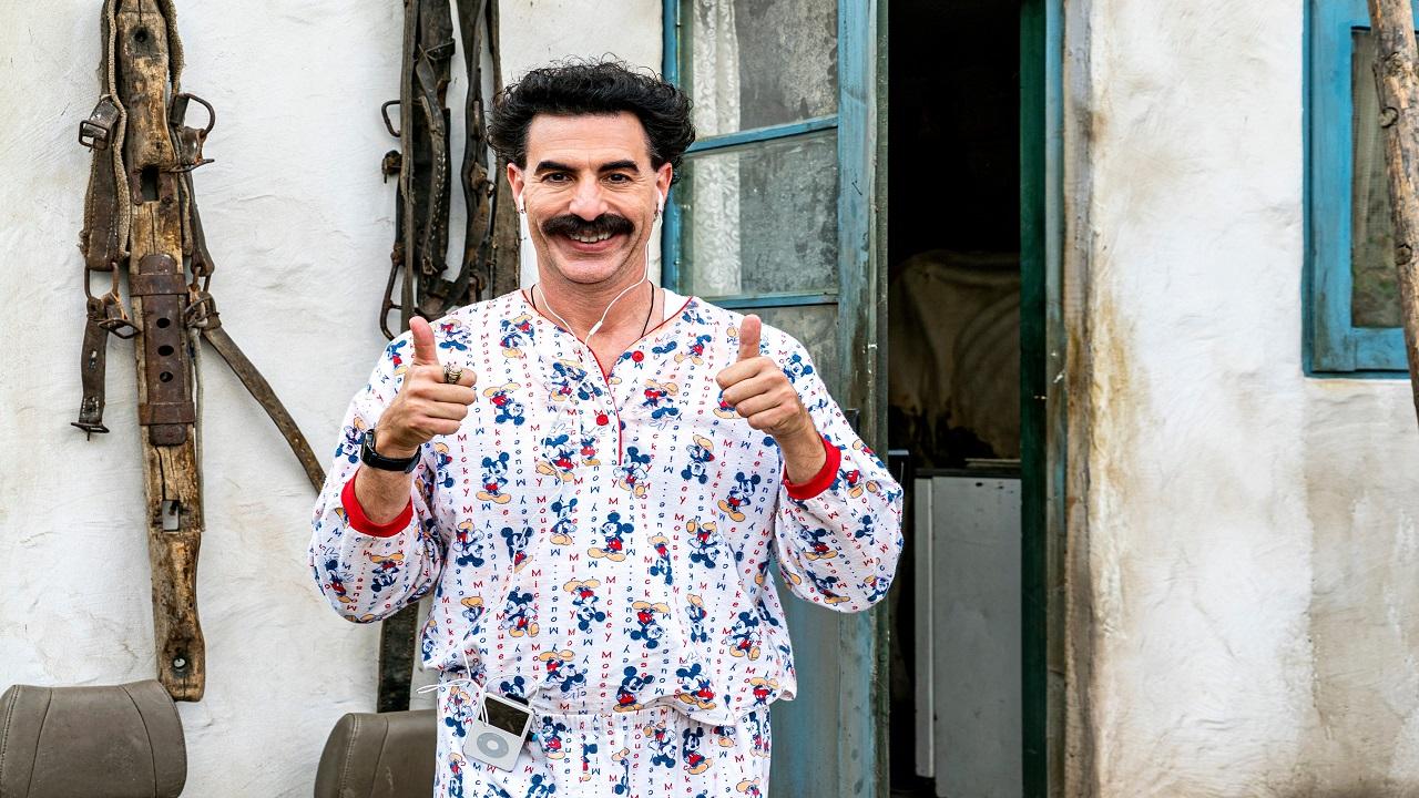 Sacha Baron Cohen vuole un Oscar per la co-protagonista di Borat 2 thumbnail