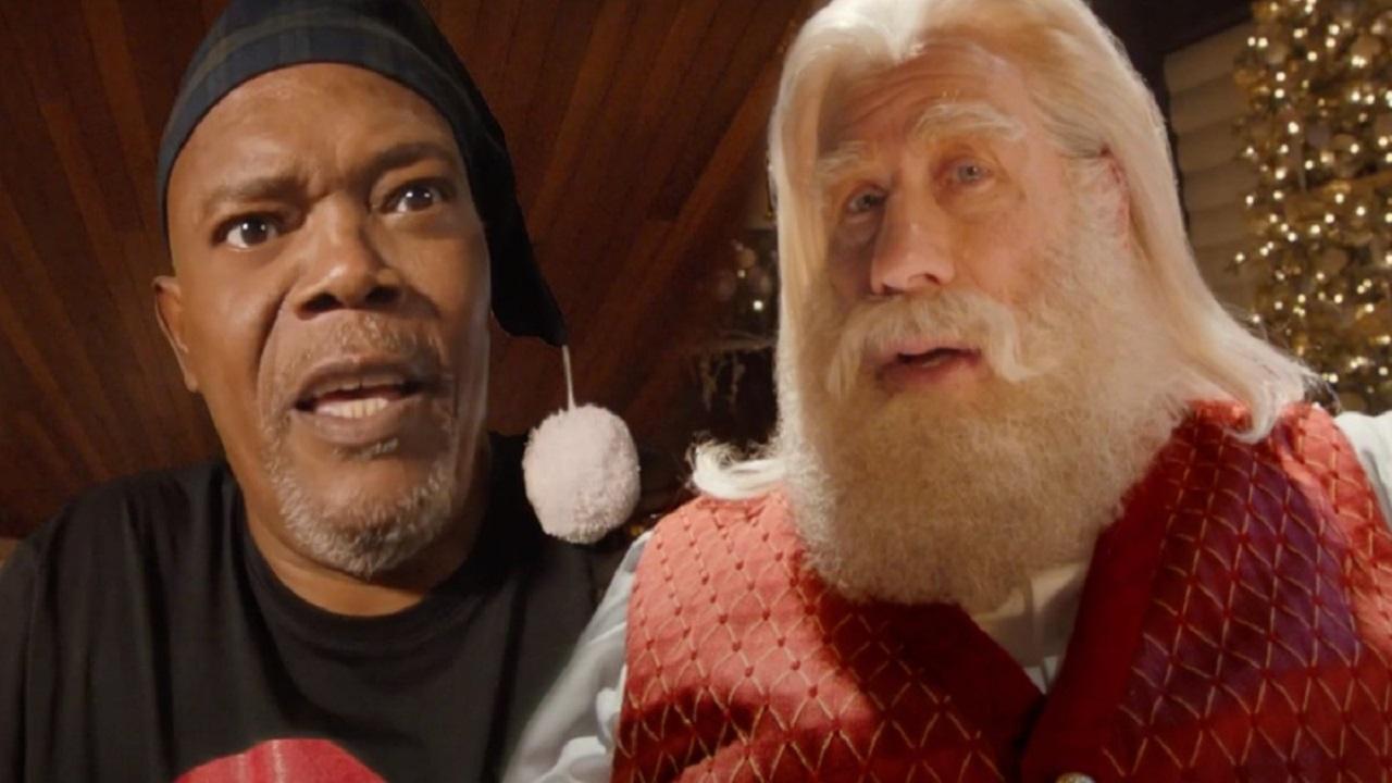 Samuel L. Jackson e John Travolta: da Pulp Fiction ad uno spot di Natale thumbnail