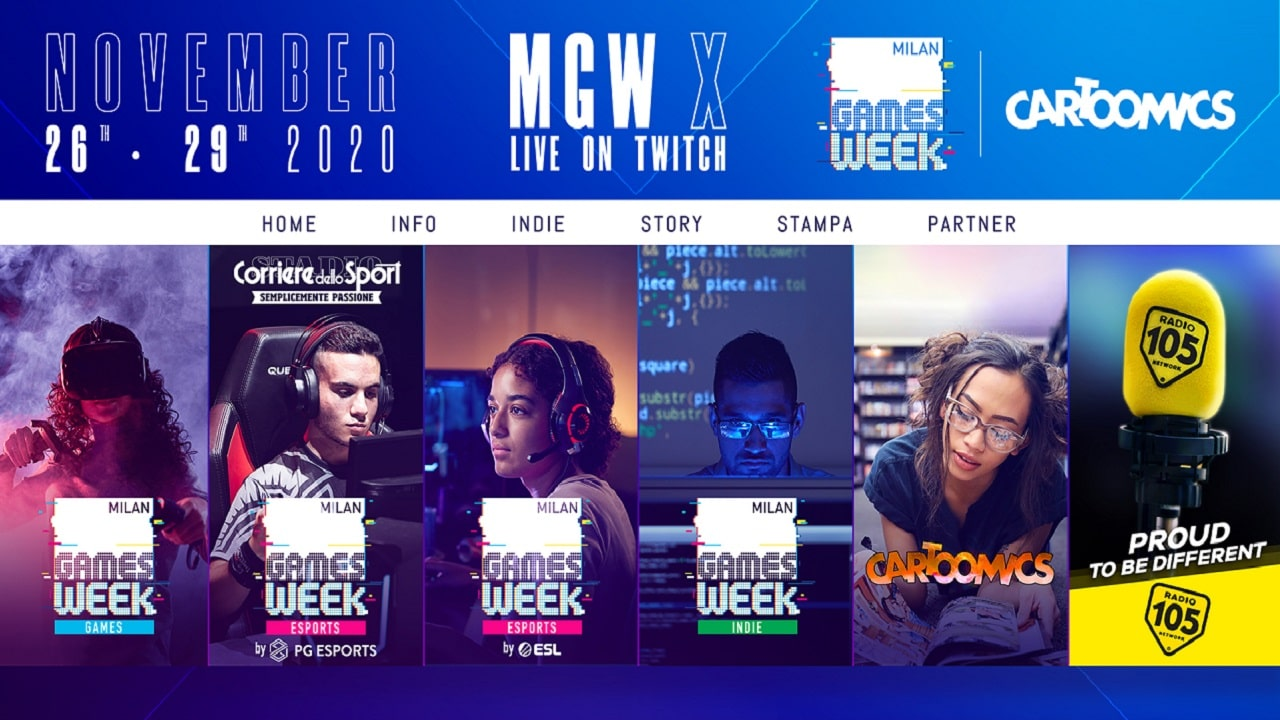 Cartoomics 2020: appuntamento in streaming su Twitch thumbnail