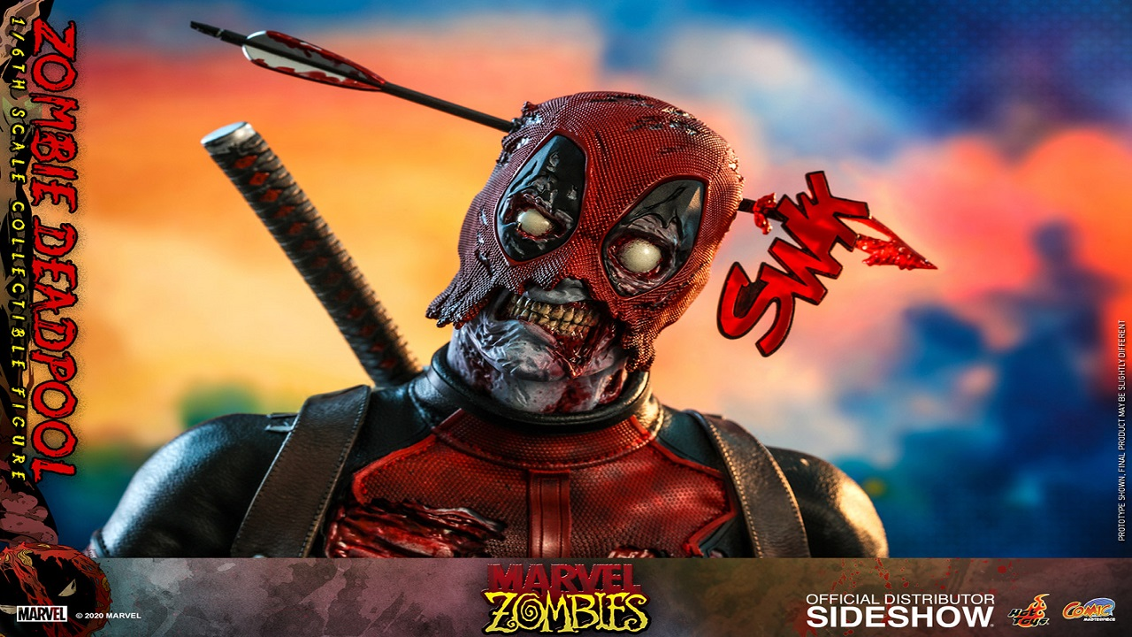 Hot Toys lancia la figure di Deadpool Zombie thumbnail
