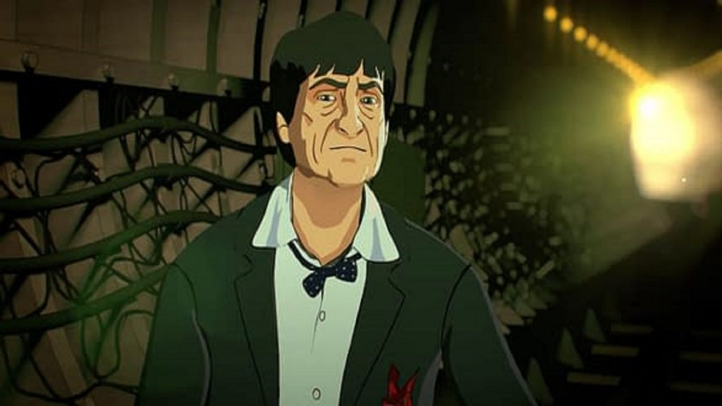 Doctor Who Animated Second Doctor Web Of Fear