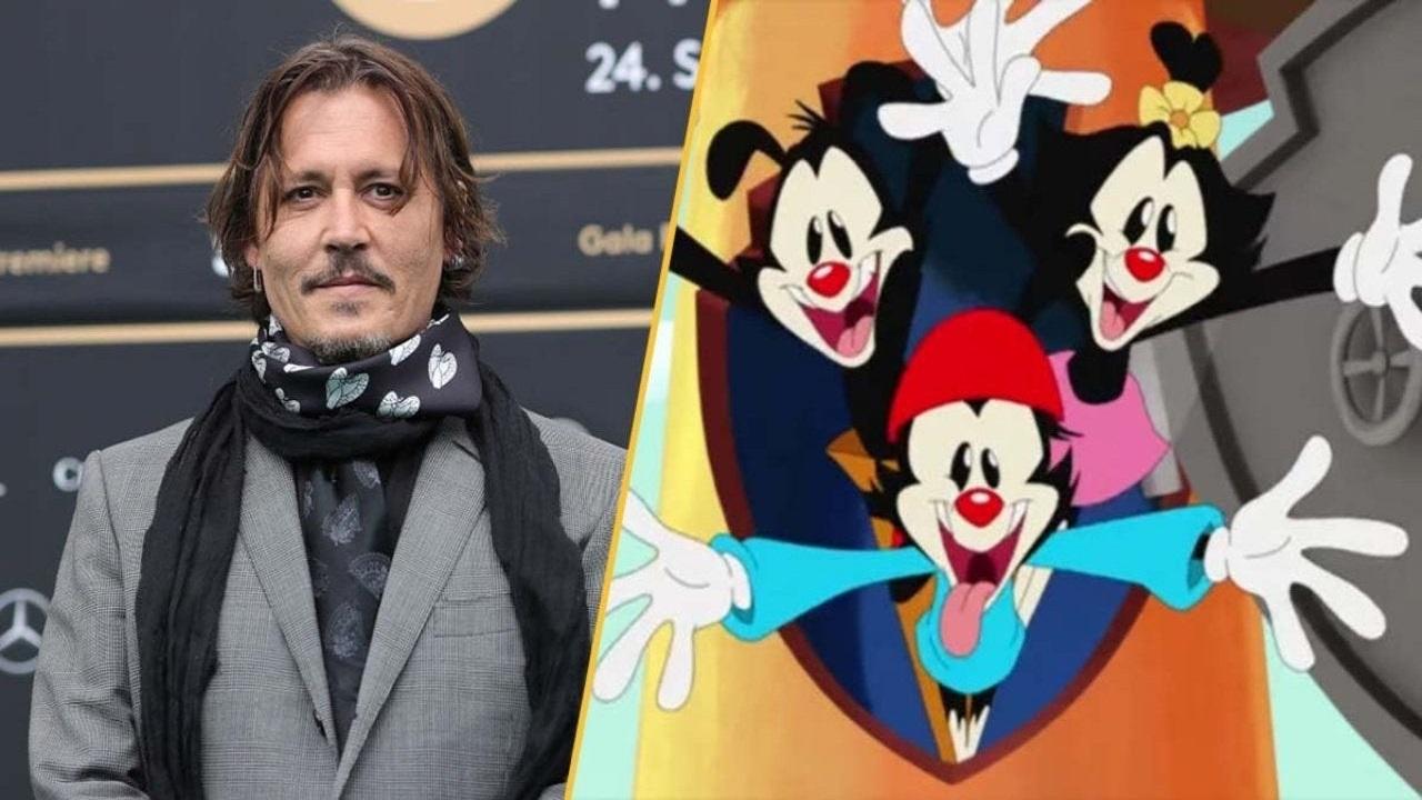Animaniacs: una gag del reboot fa arrabbiare i fan di Johnny Depp thumbnail