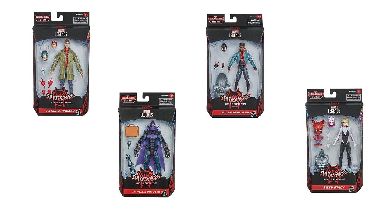 Le nuove action figure Marvel Legends ci portano nello Spider-Verse thumbnail