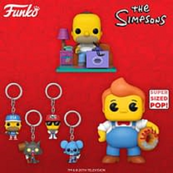 Simpson Funko Pop