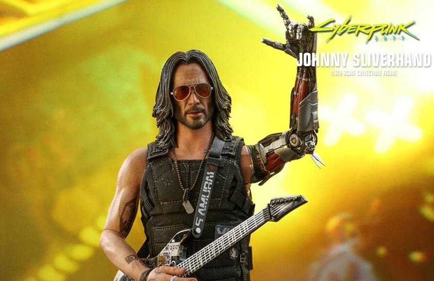 action figure cyberpunk 2077 hot toys chitarra-min
