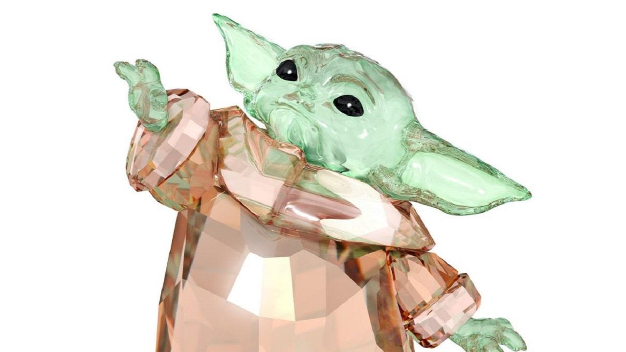 Quel Bambino è un tesoro: Baby Yoda in versione Swarovski thumbnail