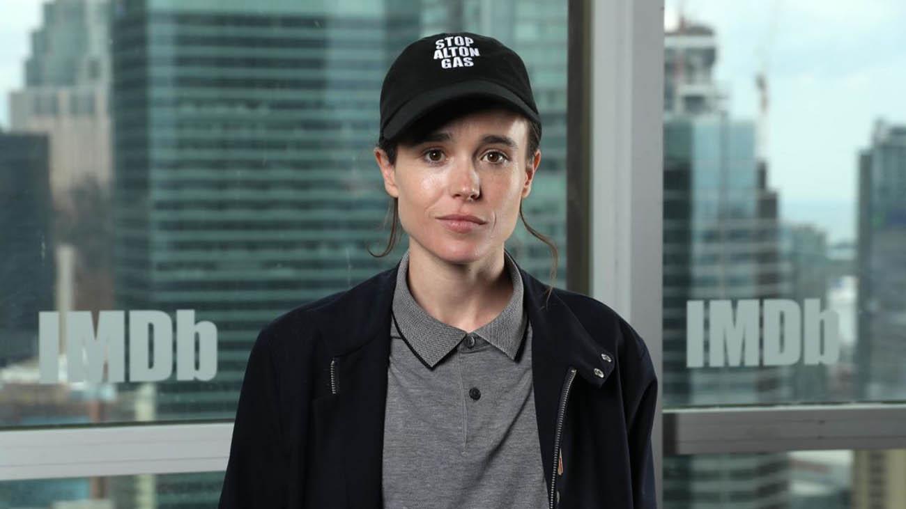 "Elliot Page sui suoi canali social annuncia: ""Sono trans"" thumbnail"