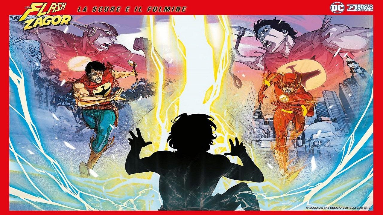 """Flash e Zagor si uniscono: ecco """"La Scure e il Fulmine"""" thumbnail"""