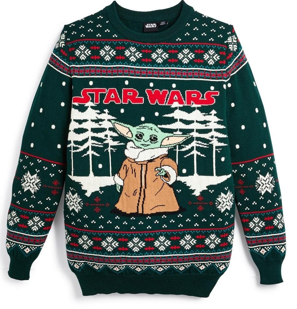 maglione natalizio baby yoda