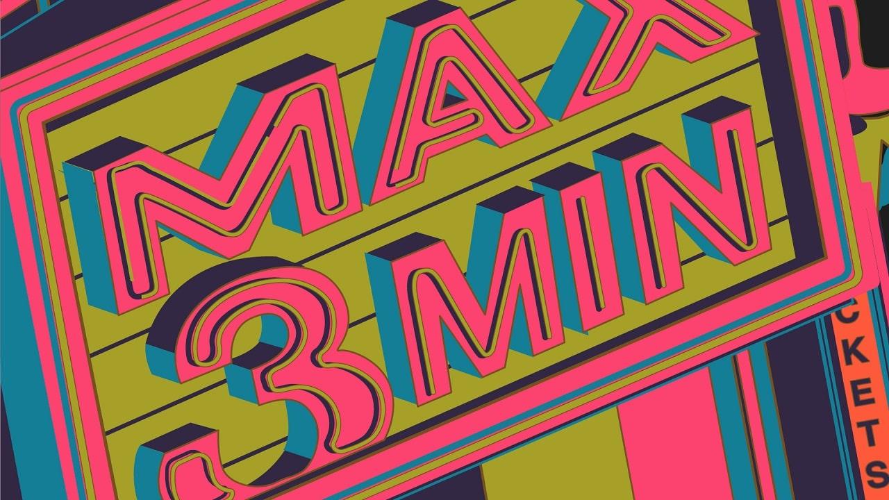 MAX3MIN è il primo festival di film che durano al massimo 3 minuti thumbnail