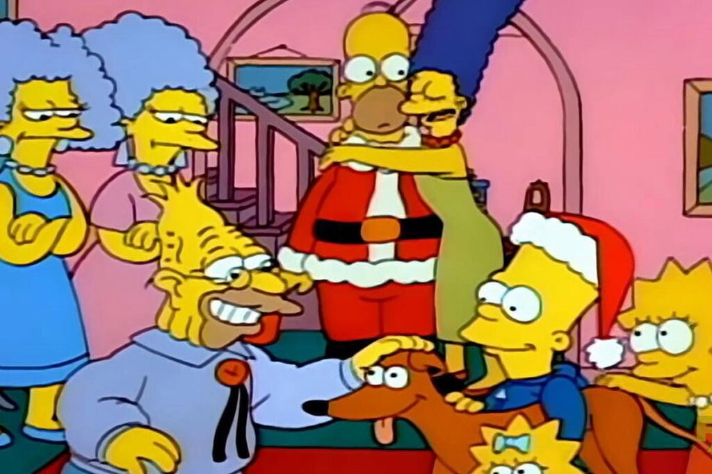simpsons episodio 1 natale-min
