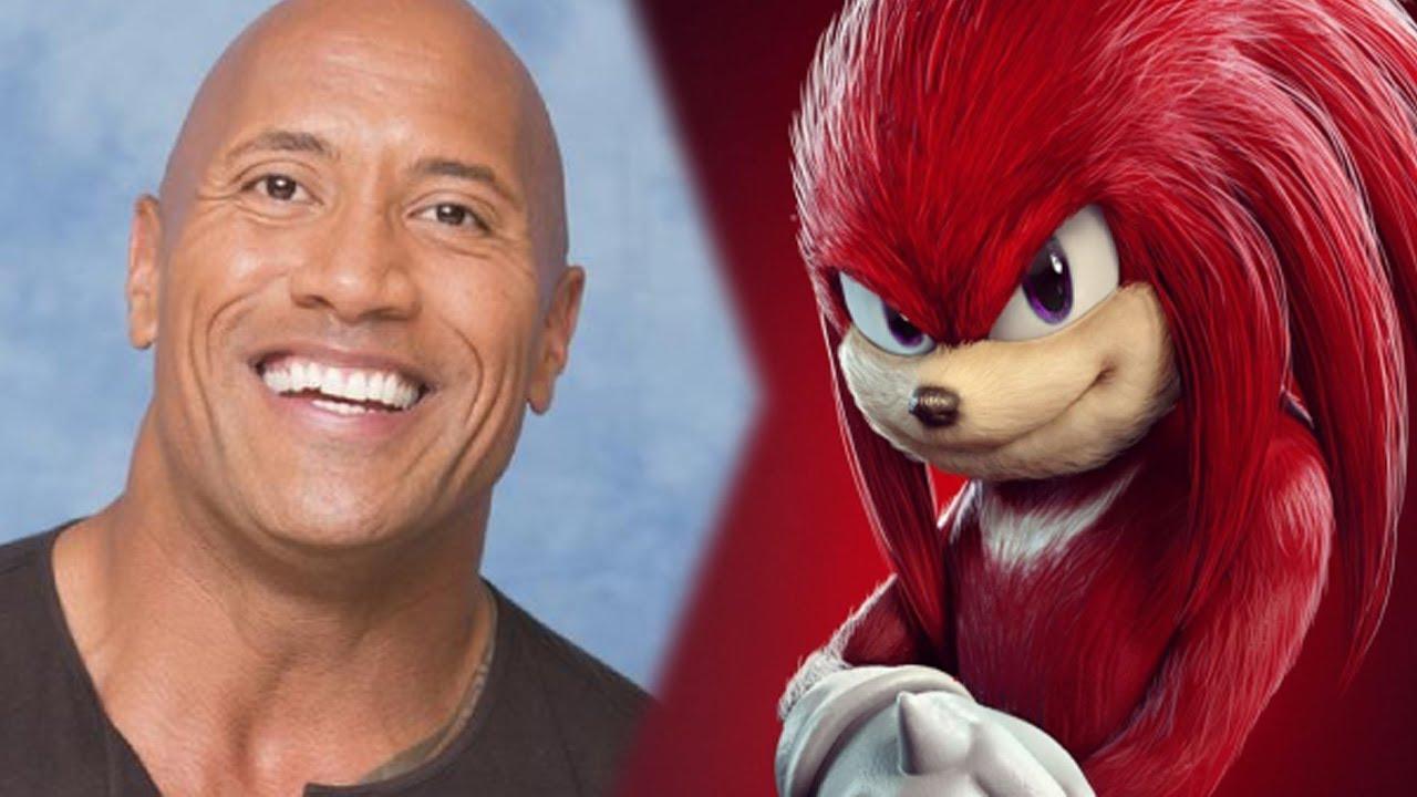 I fan vogliono The Rock come doppiatore di Knuckles in Sonic 2 thumbnail