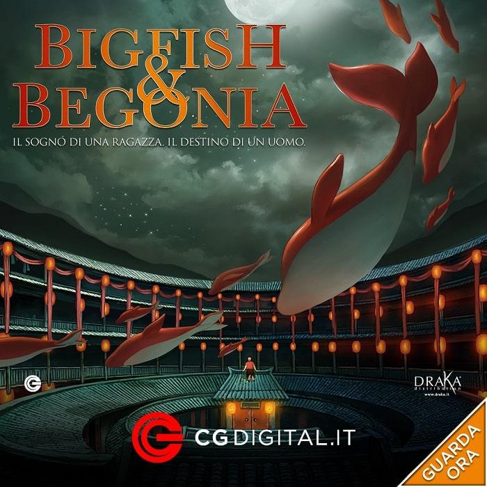 BigFish e Begonia_CG Digital
