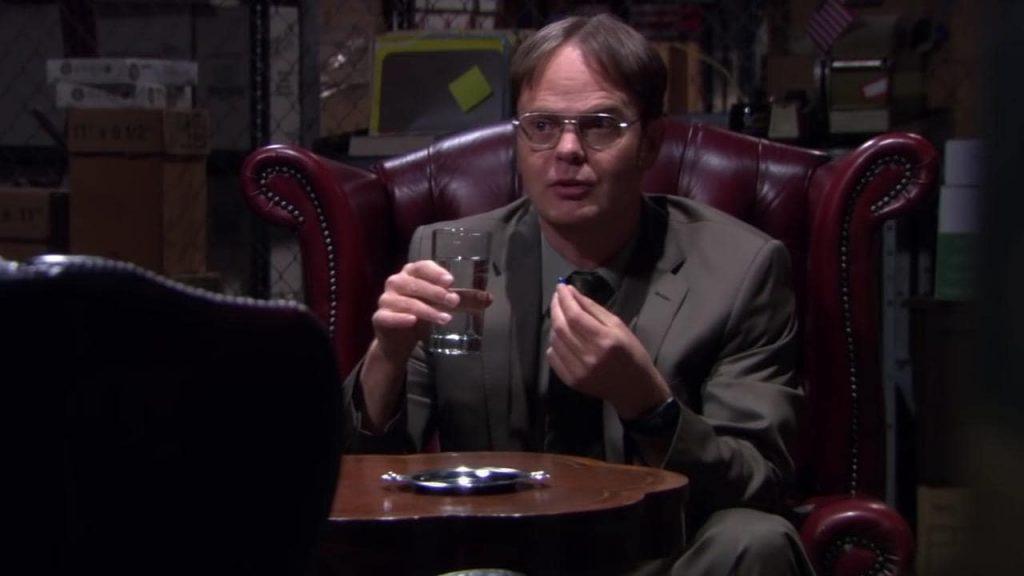 The Office matrix pillola blu-min
