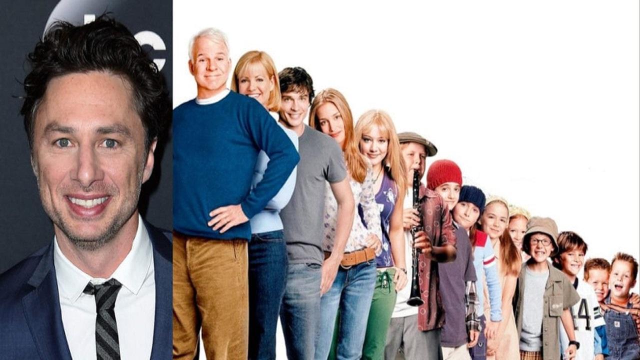 Zach Braff nel cast del reboot di Una scatenata dozzina thumbnail