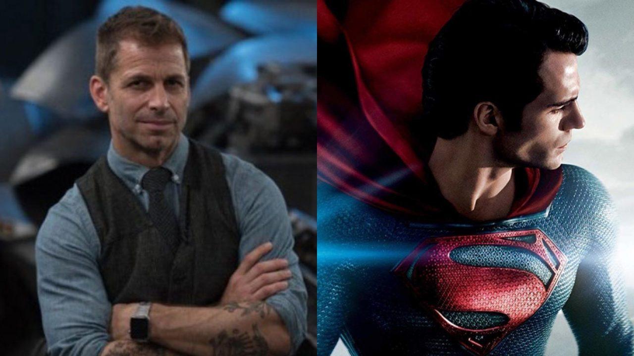 Zack Snyder condivide una foto di Cavill con il costume di Superman thumbnail