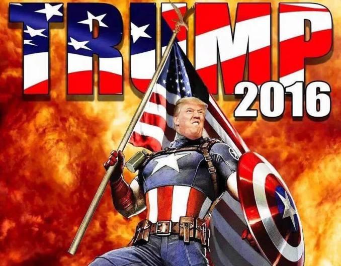 capitan america trump
