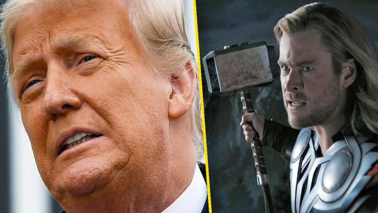 Nel trasloco di Donald Trump spunta un martello di Thor! thumbnail